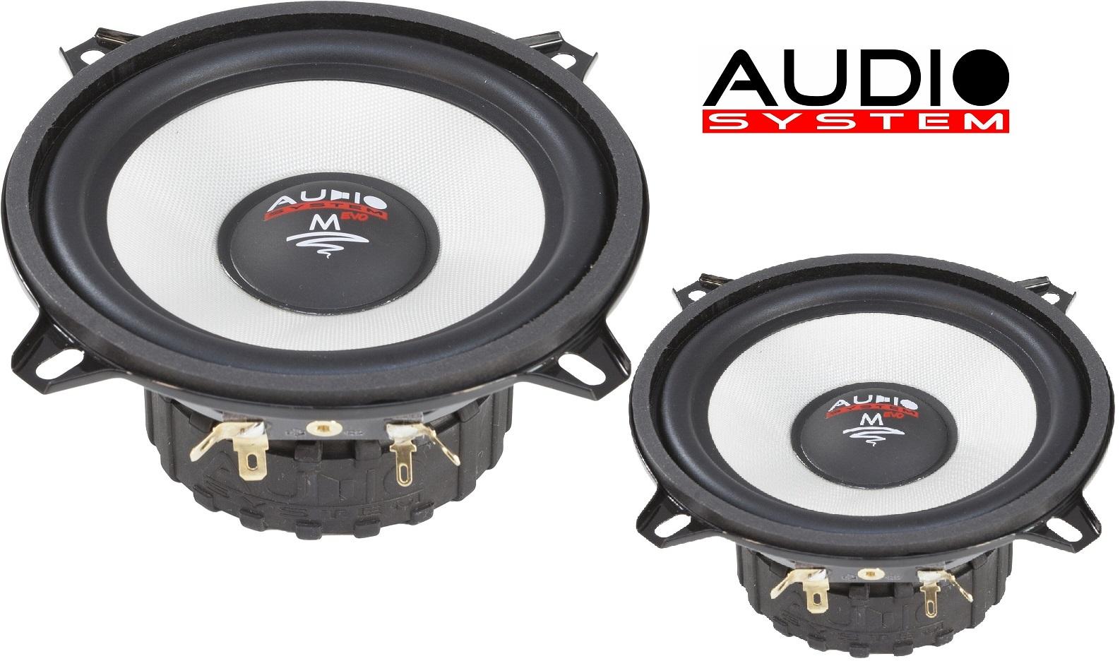 AUDIO SYSTEM MS 130 EVO Tief / Mitteltöner / Midrange Lautsprecher 1 Paar 13cm