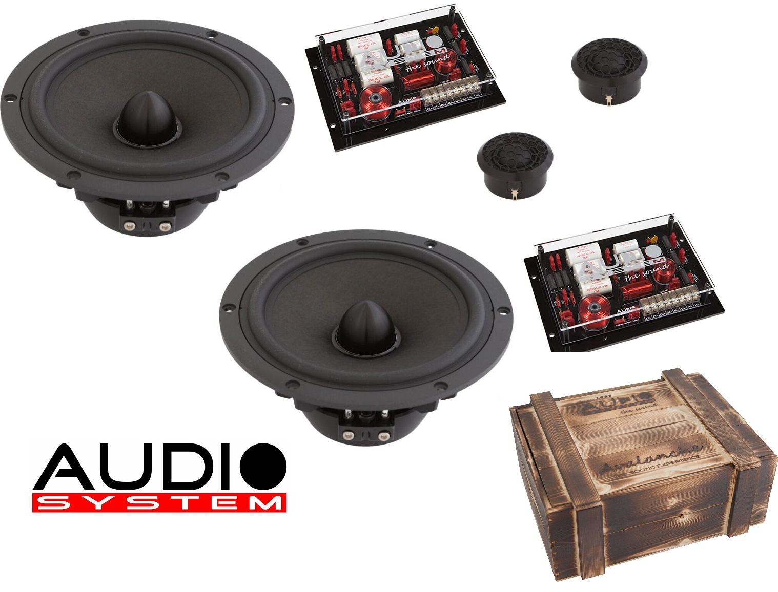 Audio System AV ALANCHE 165-2 PASSIV AV ALANCHE SERIES 16,5 cm 2-Wege HIGH END System