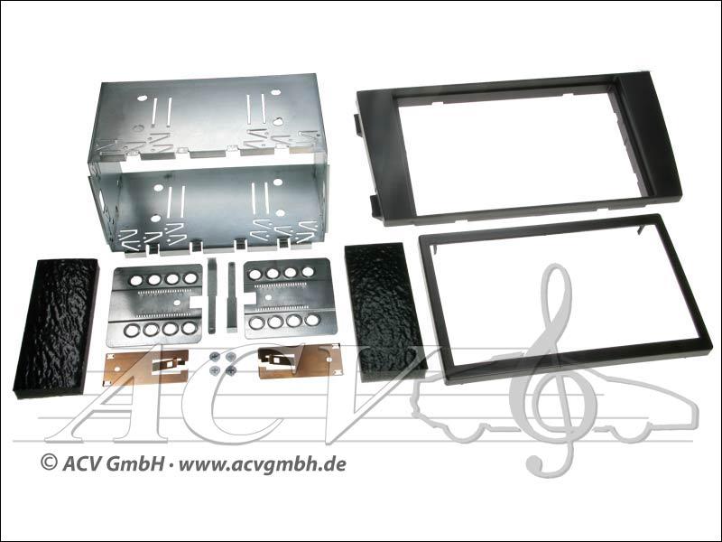 Double-DIN installation kit Audi A6 (4B) 2001-2004