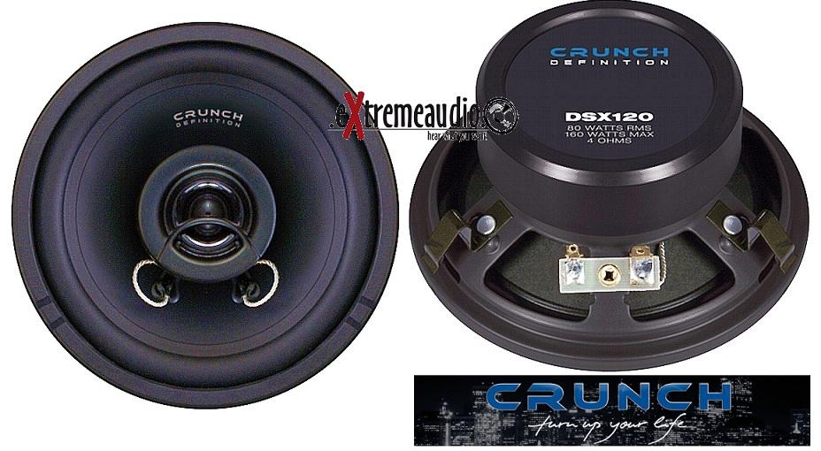 CRUNCH DSX 120 2 WEGE KOAX 12 cm DSX120
