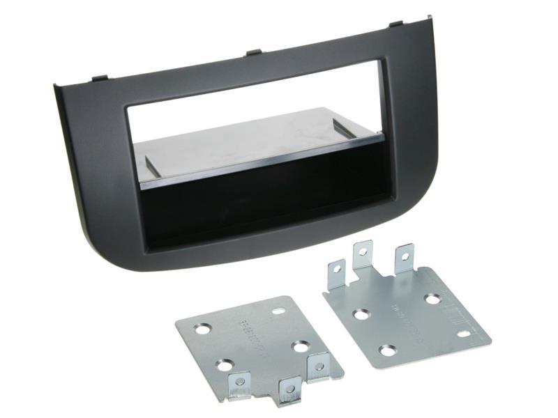 ACV 281200-08 2 - DIN plaque de planche de bord avec poche Mitsubishi Colt 2008> noir