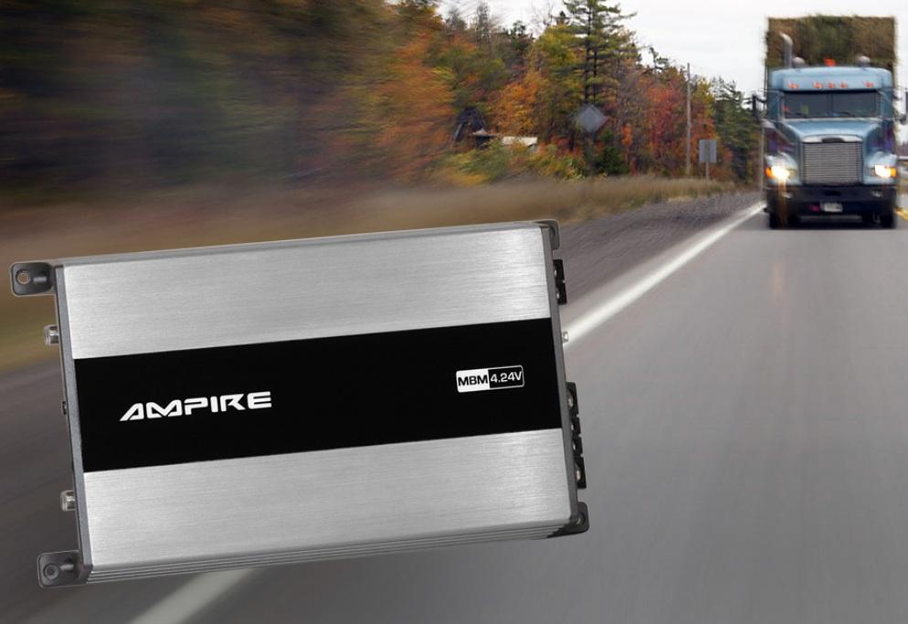 AMPIRE MBM4.24V Endstufe, 4x 100 Watt, Class D, 24 Volt Version