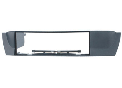 RTA 000.342-0 1- DIN Einbaurahmen, ABS - BMW grau lackiert BMW X3 (E83)/04 ->