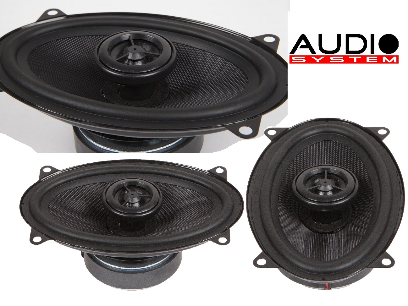 "AUDIO SYSTEM MXC 406 EVO 4x6"" Coaxial System Lautsprecher Speaker Koax 1 PAAR"