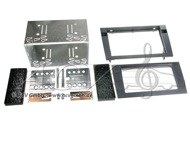 ACV 381320-15 Doppel-DIN Einbaukit für Audi A4 (B6/B7) / Seat Exeo