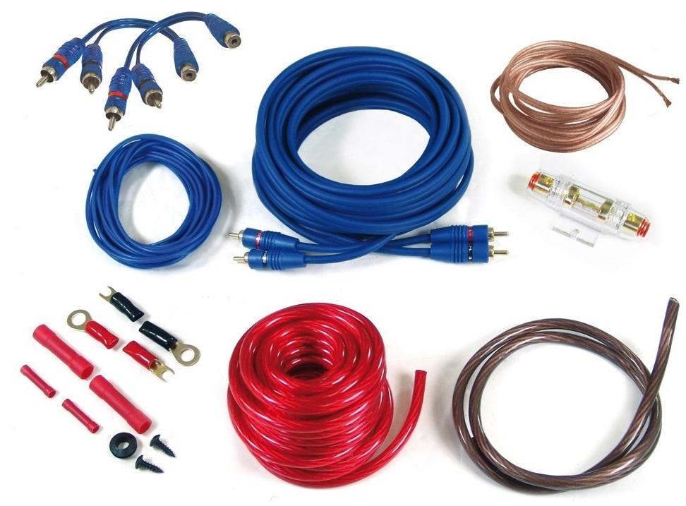 Crunch GPX104WK 10qmm Kabelkit 5m Verstärker Anschlußset 10mm² Crunch GPX 10WK