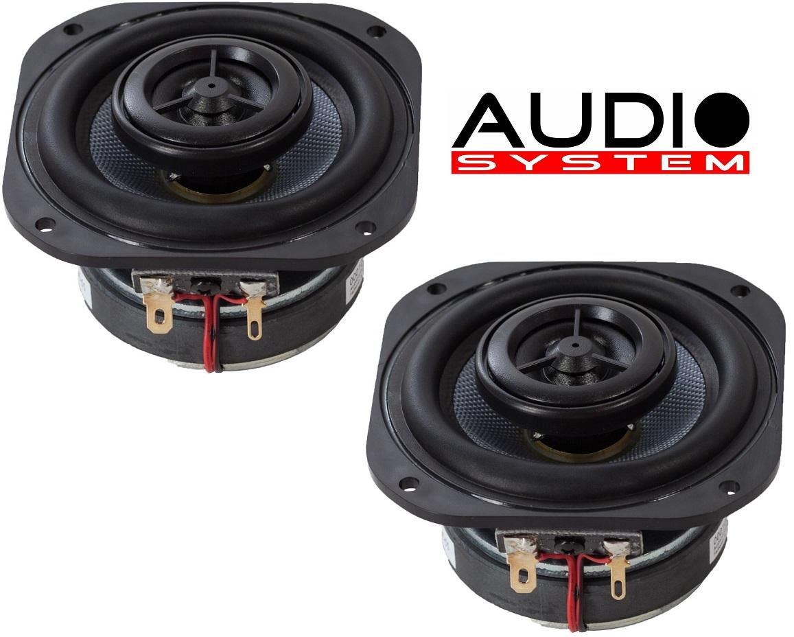Audio System CO 80 EVO 2 Wege Koax Lautsprecher 1 Paar