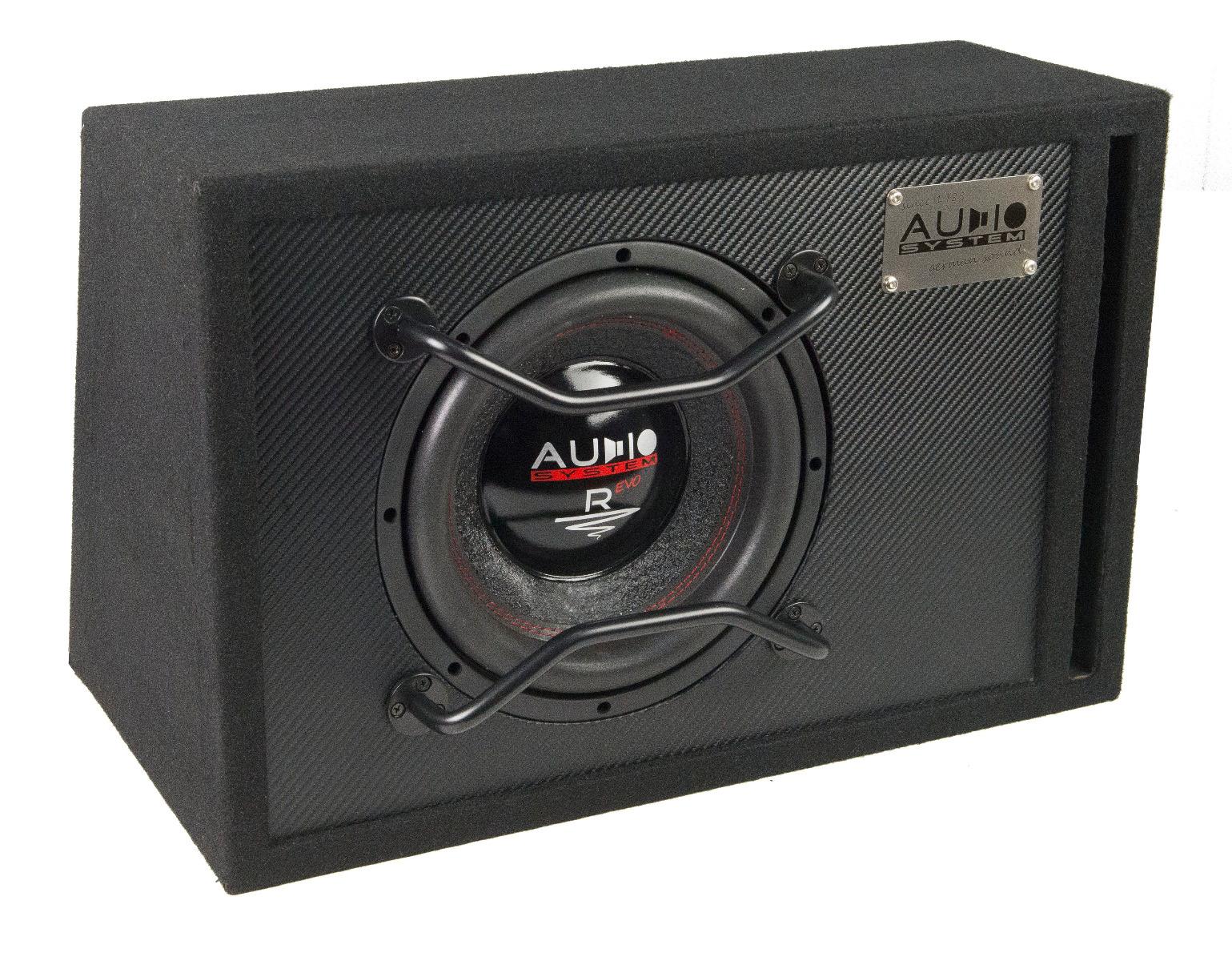 Audio System R 10 EVO BR 25cm Subwoofer Bassreflexgehäuse 400 Watt RMS RADION SERIES EVO HIGH EFFICIENT
