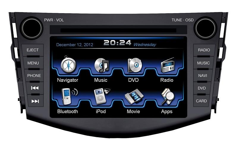 ESX VN710-TO-RAV4-DAB Navigation für Toyota RAV4 (2009>) mit DAB Tuner