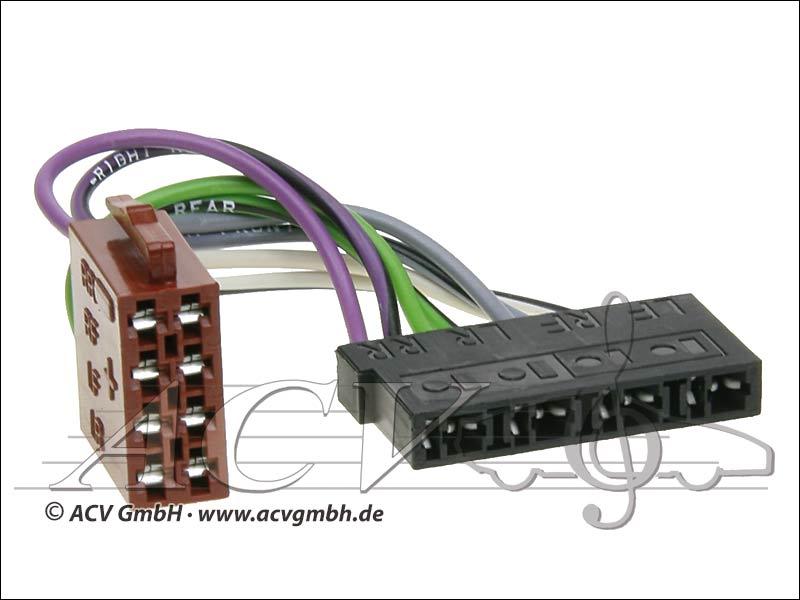 ACV 1400-02 Universal-Umrüstadapter Lautsprecher