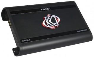 KICKER BX500.2 analogiche a 2 canali amplificatore