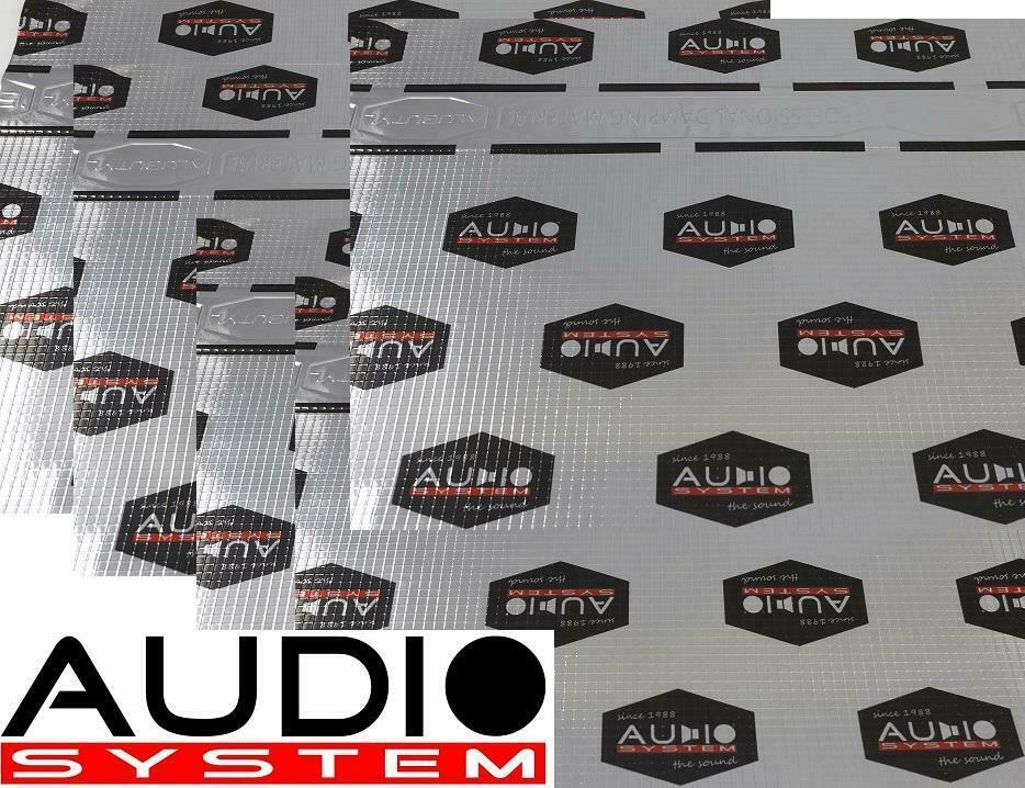 Audio System ALUBUTYL 1500 Dämmmaterial 20 Stück = 3 m² Alubutyl selbstklebend