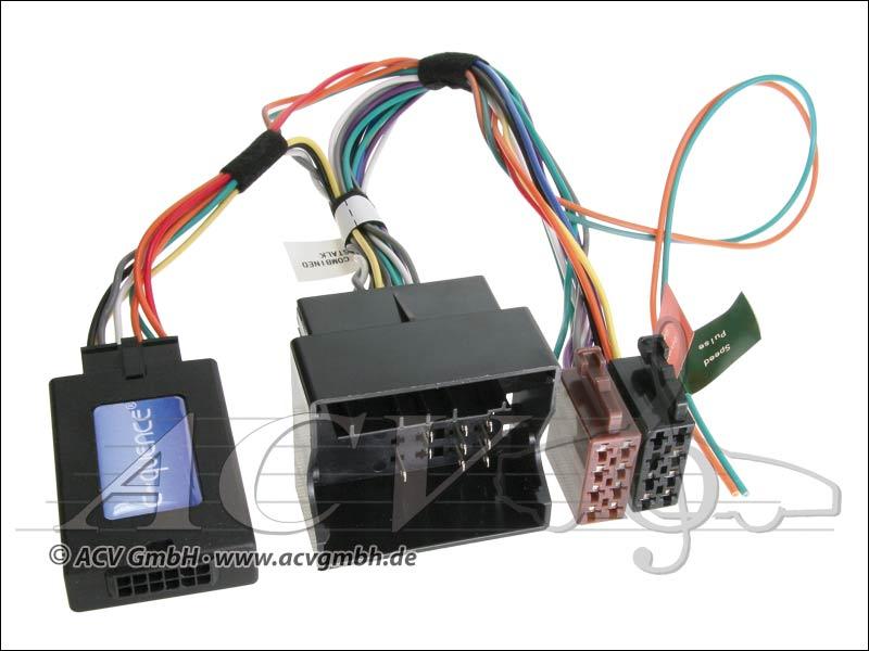 ACV 42-VX-302 CAN-Bus steering wheel adapter Opel from 04 -> Pioneer