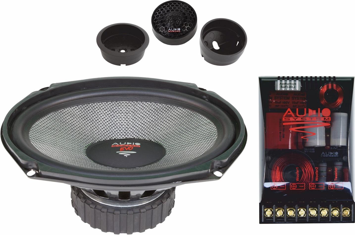 Audio System X 609 EVO 2 X--ion SERIES 6x9 2-Wege Spezial System