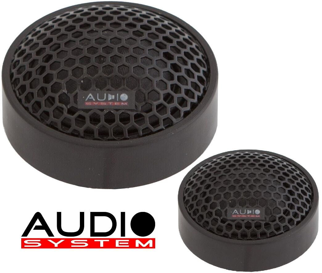 Audio System HS 24 EVO 2 Gewebe-Neodymhochtöner 25mm 1 Paar Hochtöner Tweeter