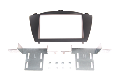 RTA 002.439-0 Doppel DIN Einbaurahmen ABS schwarz Hyundai ix35 alle Modelle ab Baujahr 2010