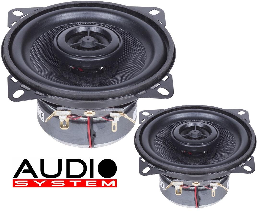 AUDIO SYSTEM MXC 100 EVO 100 mm Coaxial System Lautsprecher 10cm Speaker Koax 1 PAAR