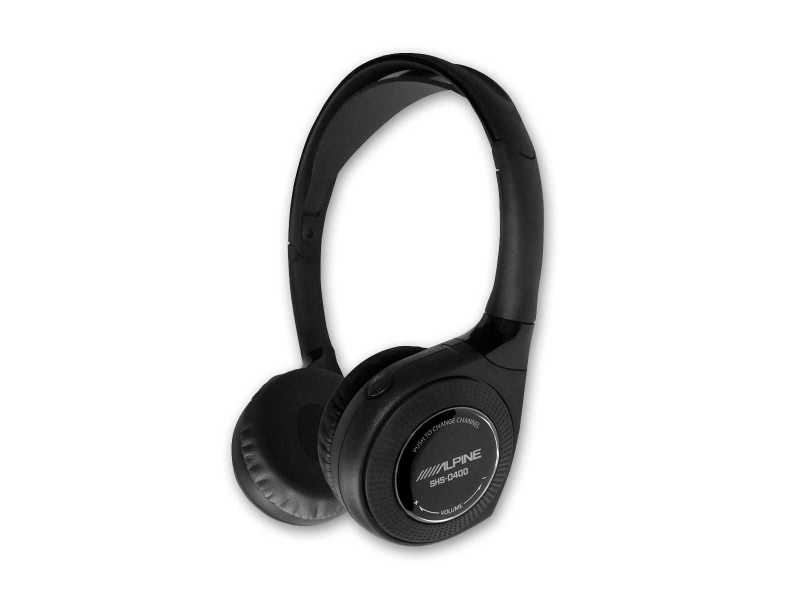 Alpine SHS-D400 4-Kanal Digital-Kopfhörer Drahtloser Kopfhörer Funk-Kopfhörer