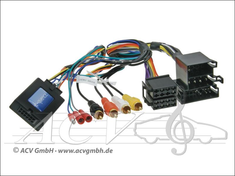 ACV 42-AD-203 CAN-Bus Steering Wheel Adapter Audi ISO -> Panasonic