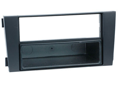 RTA 001.116-0 2 - DIN mounting frame, Black ABS