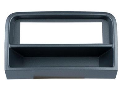 RTA 000.309-0 1 - DIN mounting frame, black ABS