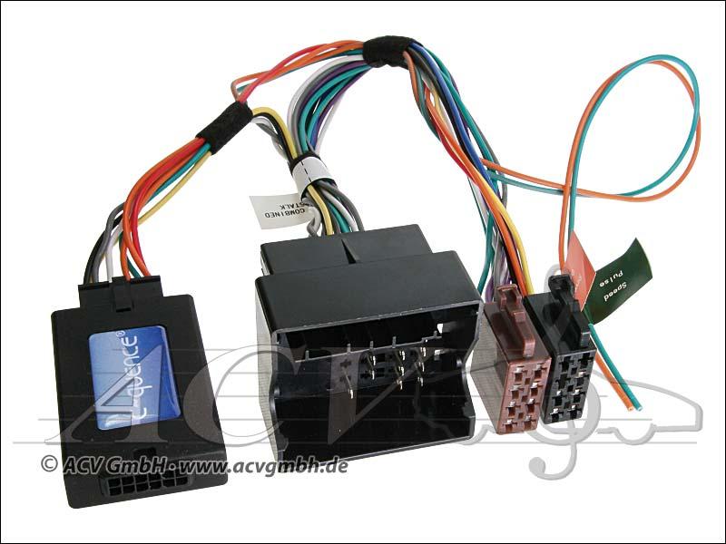 ACV 42-PG-607 CAN-Bus steering wheel adapter Peugeot -> Sony