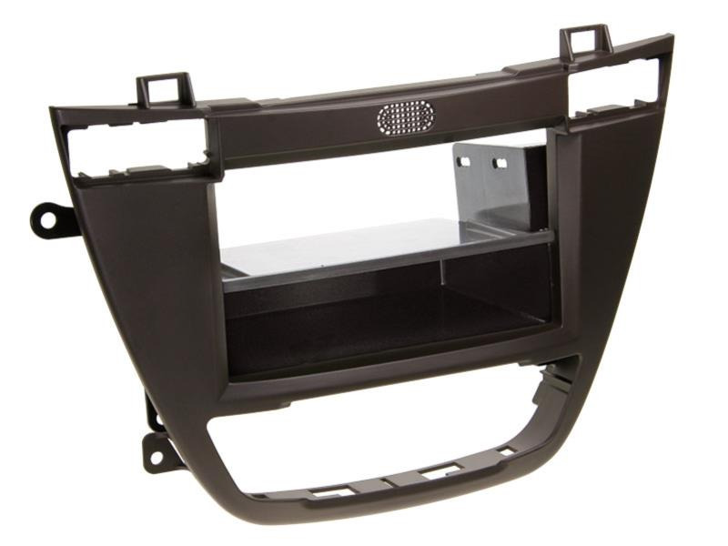 ACV 281230-22-2 2-DIN facia plate with pocket Opel Insignia / Buick brown