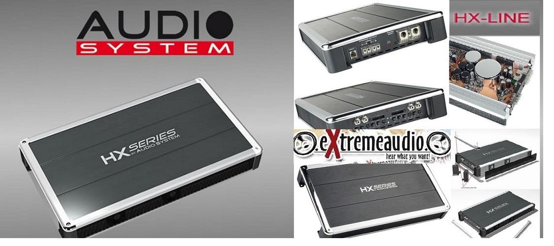 Audio System HX 170.2 2-Kanal Verstärker 980 Watt HX170.2