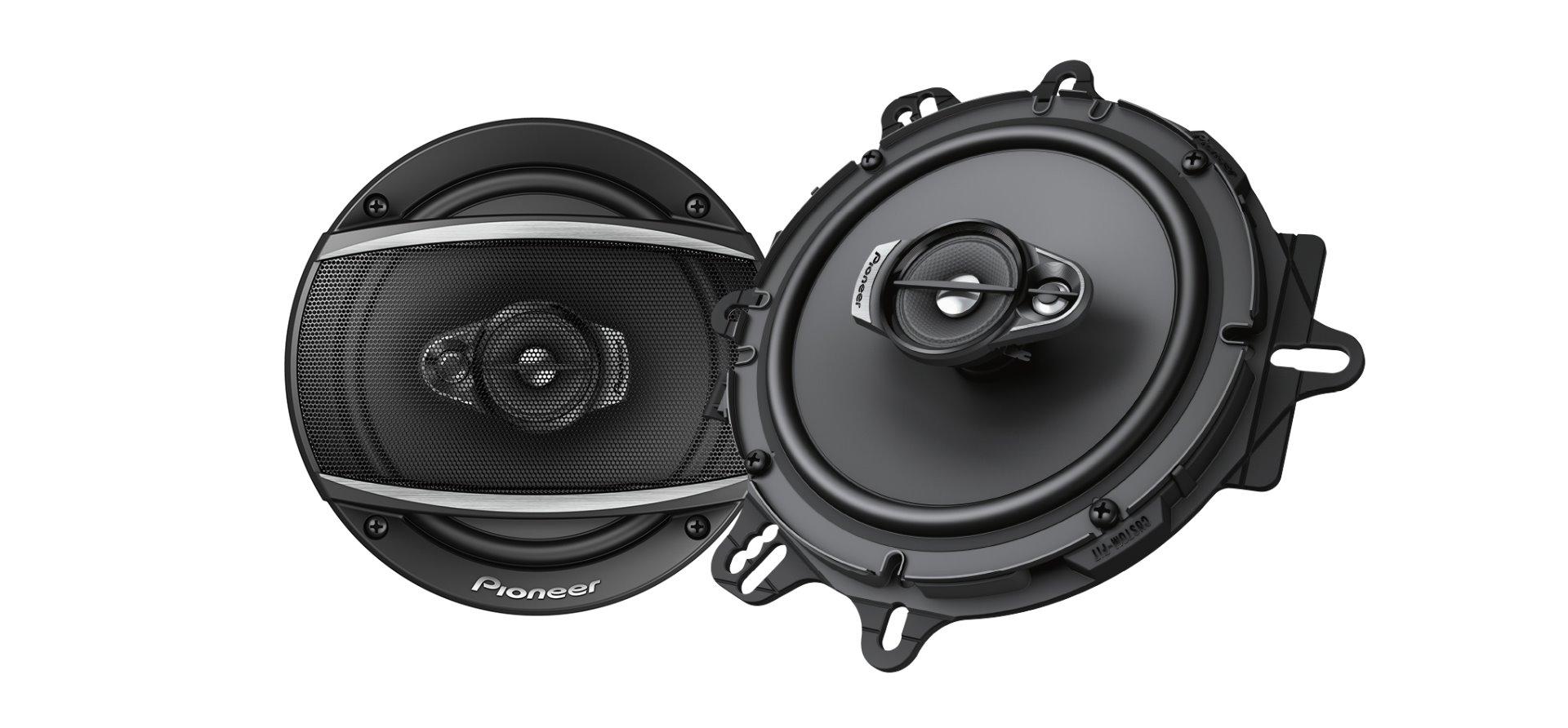 Pioneer TS-A1670F 3-Weg-Koaxiallautsprecher (320 W), 16,5 cm Lautsprecher 1 Paar