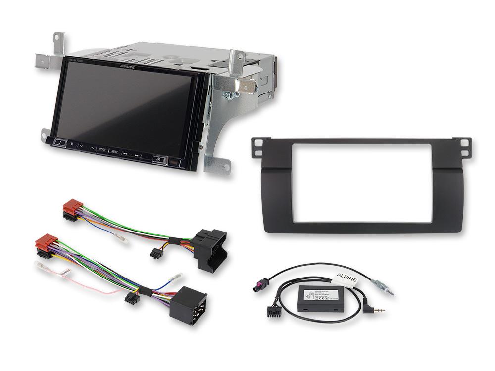 Alpine iLX-702E46 7-Zoll Premium-Mobile-Media-System für 3er BMW (E46) mit Apple CarPlay und Android Auto Unterstützung