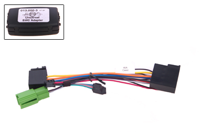 RTA 013.401-0 Lenkradadapter für Fahrzeuge mit Lenkradfernbedienung ohne Can Bus Steuerung für KIA Ceed Proceed