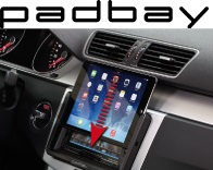 41-1324-101 Padbay Display- und Lenkradfernbedienungsadapter CAN Connect Seat, Skoda, VW weißes Display - ALPINE