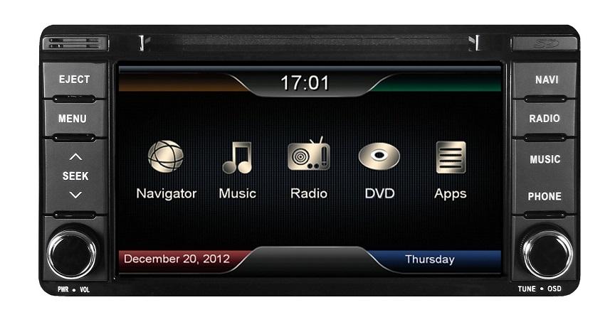 ESX VN610-MT-U1 Navigation für Mitsubishi Outlander, ASX, Pajero, Lancer
