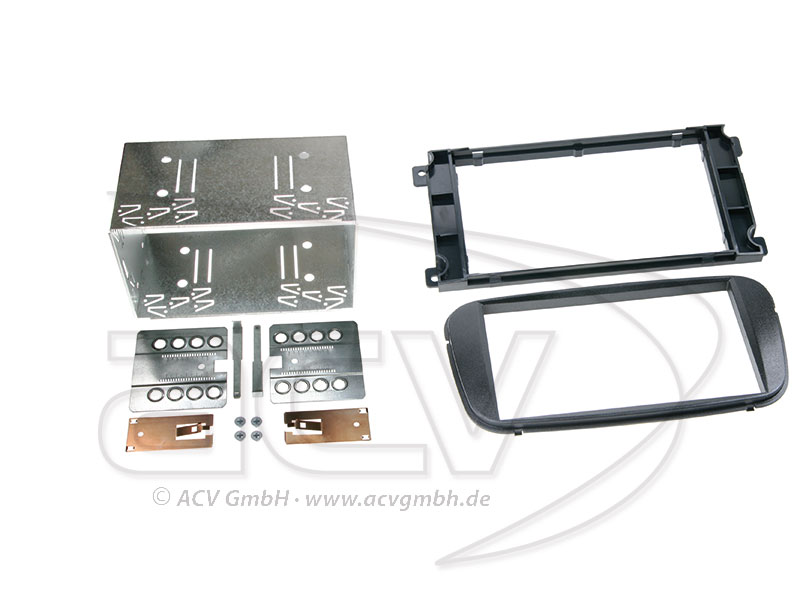 ACV 381114-19-1 double-DIN radio bezel for Ford Mondeo / Focus / C-Max / S-Max / Galaxy
