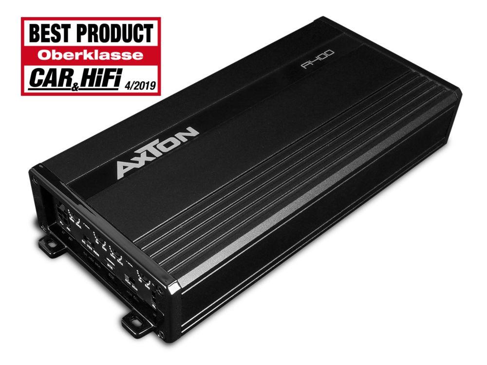 Axton A400 4 Kanal Class D Verstärker 4 x 100 Watt RMS