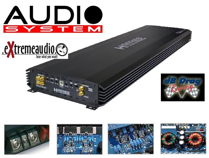 Audio System HELON 9000.1  Mono Verstärker 11500 Watt