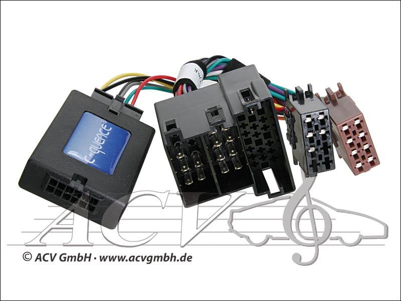 ACV 42-PG-604 steering wheel adapter Peugeot 206 / 306 -> Sony
