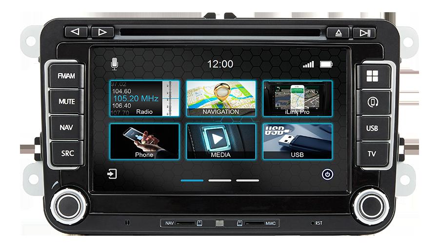 Dynavin N7-V7 PRO Autoradio Navigation für VW Volkswagen, Skoda, Seat