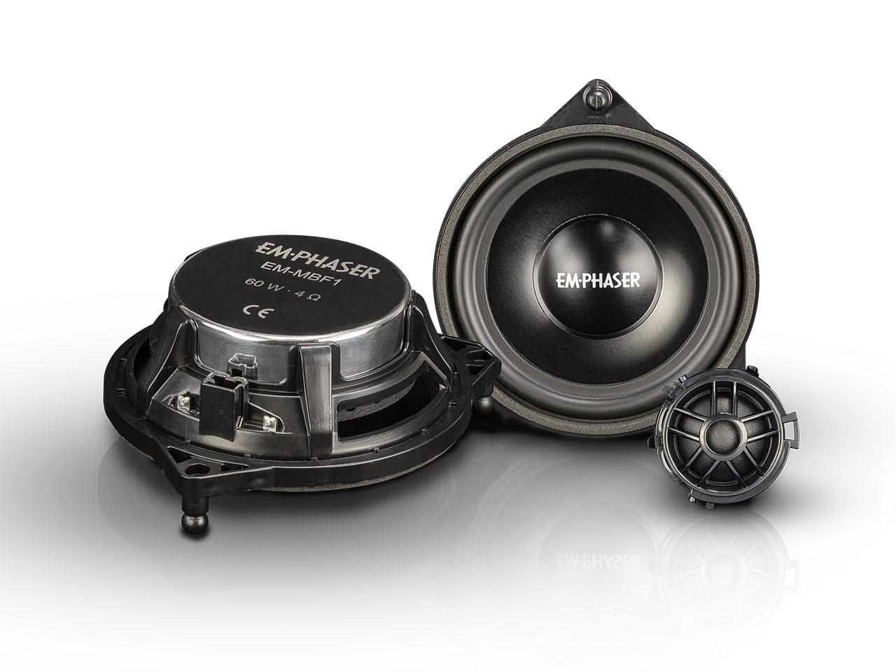 EMPHASER EM-MBF1 Plug & Play Komponentensystem für Mercedes-Benz W205, C205, A205, X253, C253, W213, S213, C238, A238, W222