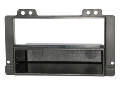 RTA 001.245-0 2 - DIN Telaio di montaggio, Nero ABS