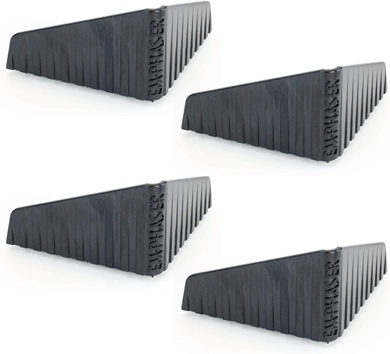 EMPHASER ESP-SUBFIX Subwoofer Befestigung Antirutschwinkel für Bassboxen, verhindert das Verrutschen von Basskisten im Kofferraum, Antirutschecken zur Fixierung von Subwoofern im Auto, 4 St.