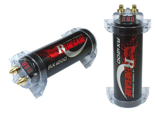Renegade 1.2 Farad Pufferelko RX1200 RX 1200