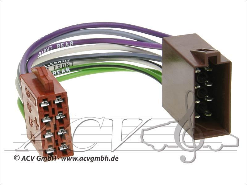 ACV 1322-02 Universal-Umrüstadapter Lautsprecher
