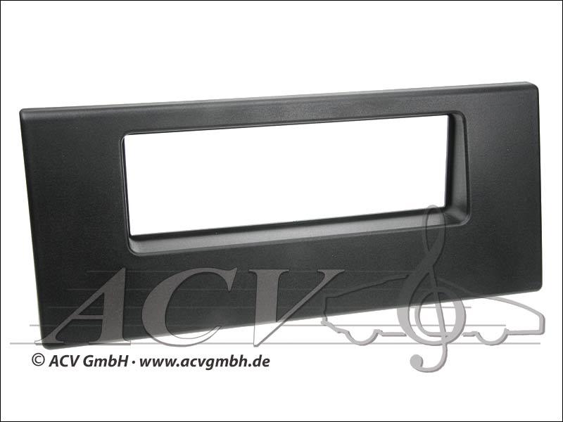 Radioblende Rubber Touch BMW 5er E39 / X5 schwarz