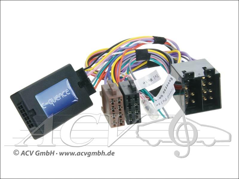 42-MC-502 CAN-Bus steering wheel adapter Mercedes ISO -> Blaupunkt