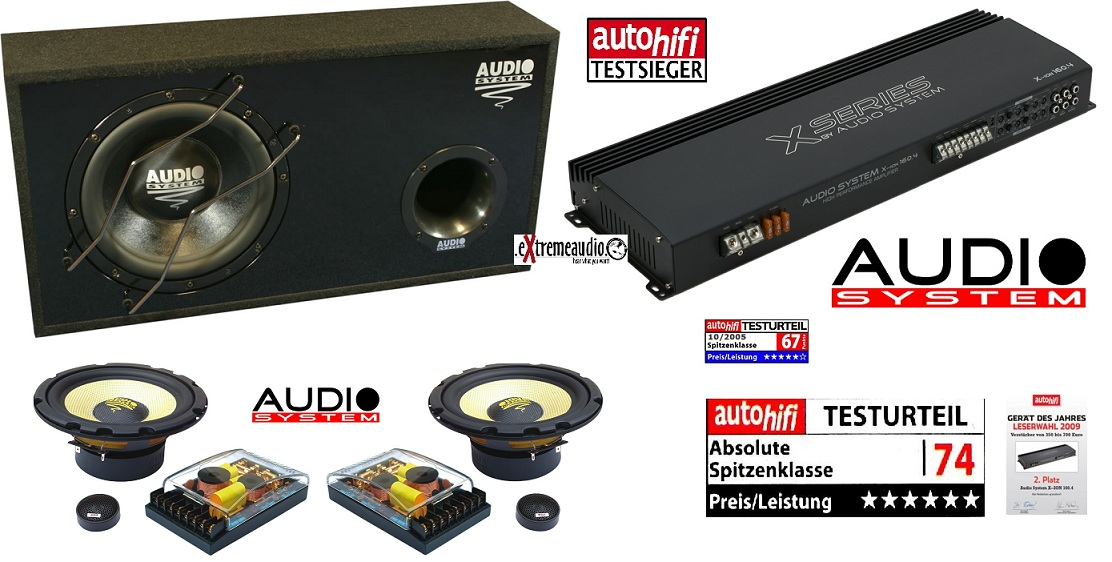 Audio System X-SERIES Sonderedition KRYPTON + X 160.4 + Xion 165