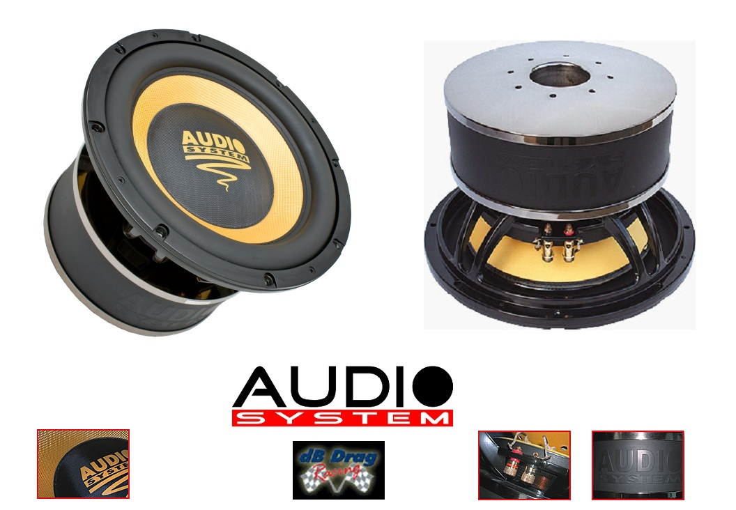 Audio System Helon 12 Spl 30 Cm High Power Subwoofer Helon12spl