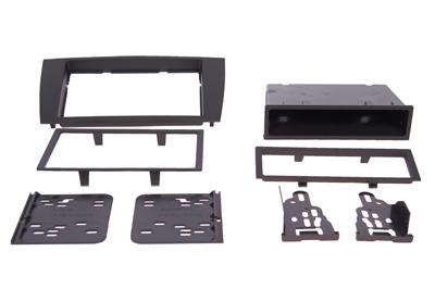 RTA 002.251-0 Multi Einbaurahmen Kit mit Ablagefach, Ausführung ABS schwarz JAGUAR S Type, JAGUAR X Type