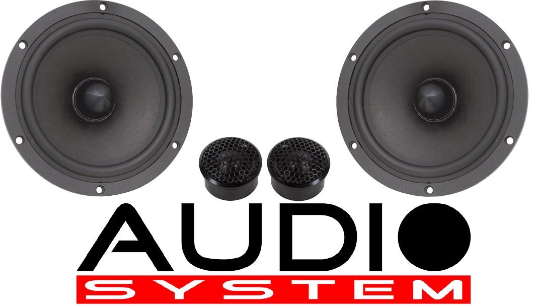 Audio System AVALANCHE 165-2 2-Wege System AVALANCHE-SERIES 250 Watt 1 Paar
