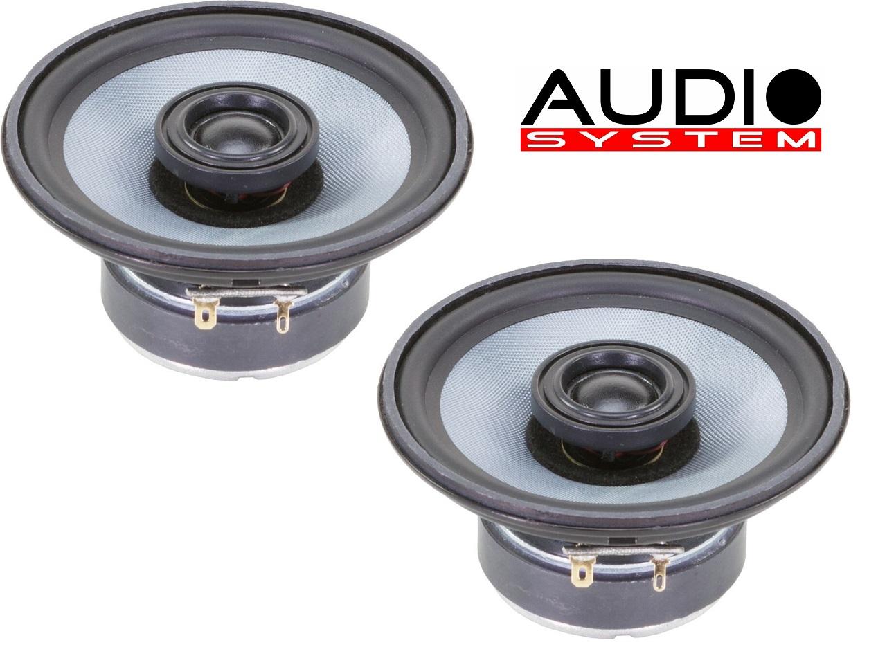 Audio System CO 120 EVO 12cm 2-Wege Koaxialsystem Mercedes W124 vorne u. hinten 120mm 1 Paar